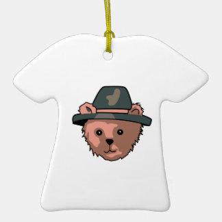TEDDY BEAR PILGRIM CERAMIC T-Shirt DECORATION