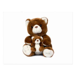 teddy bear post cards