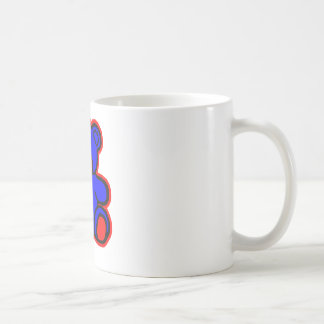 Teddy Bear Red Blue The MUSEUM Zazzle Gifts Mugs