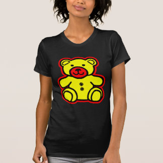 Teddy Bear Red Yellow The MUSEUM Zazzle Gifts T Shirts