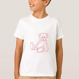 Teddy Bear Redwork T-Shirt