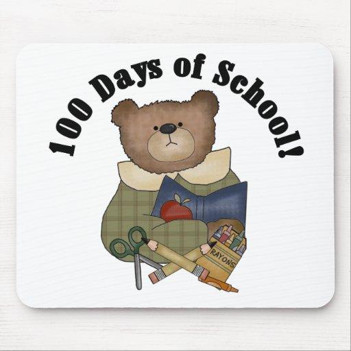 Teddy Bear School 100 Days Mouse Pad