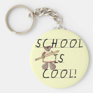 Teddy Bear School is Cool Tshirts and Gifts Keychains