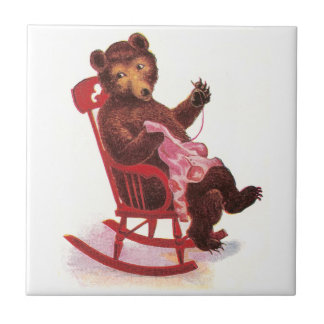 Teddy Bear Sewing Clothes Tiles