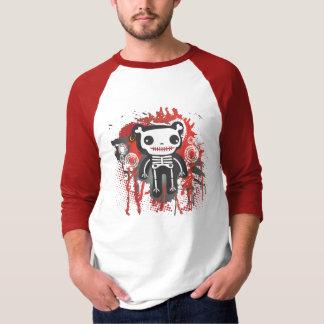 teddy bear skeleton bloody grunge T-Shirt