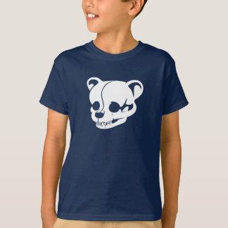 Teddy Bear Skull 3D Dark Only Kid T-Shirt