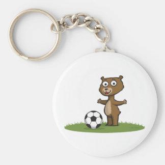 Teddy Bear Soccer Key Chains