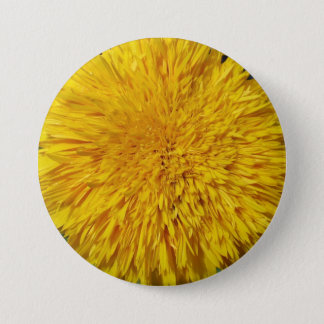 Teddy Bear Sunflower 7.5 Cm Round Badge