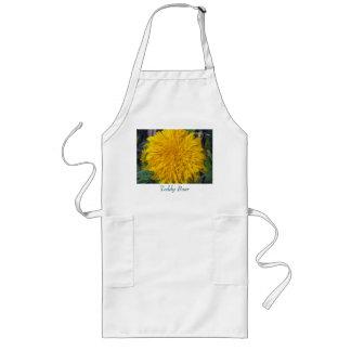 Teddy Bear Sunflower Long Apron