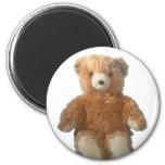 Teddy Bear - Sydney 6 Cm Round Magnet