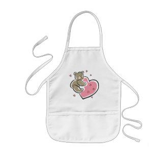 Teddy Bear T-Shirts and Teddy Bear Gifts Kids Apron