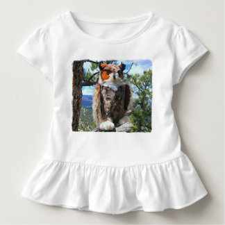 Teddy Bear Tours Colorado, Owl Print Toddler T-Shirt
