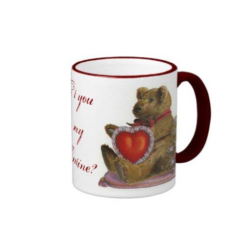 Teddy Bear Valentine Mug