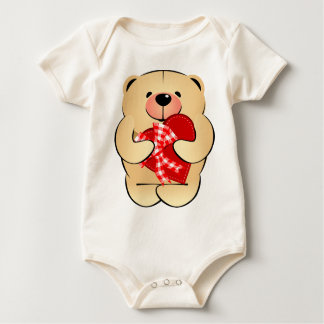 Teddy Bear Valentines Day Shirt - infant