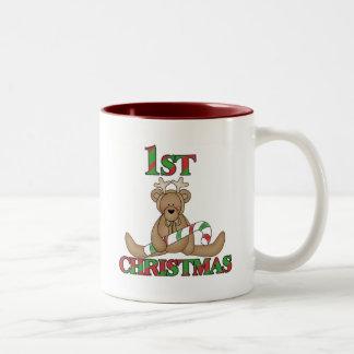 Teddy Bear Very 1st Christmas Tshirts and Gifts Coffee Mug