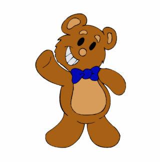 Teddy Bear Waving Photo Cut Outs