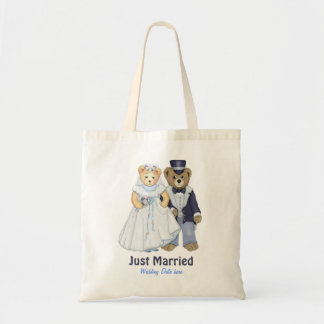 Teddy Bear Wedding - Customize Tote Bag