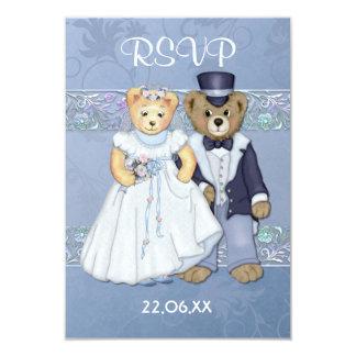 Teddy Bear Wedding RSVP-ver 2 Card