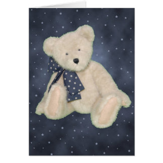Teddy Bear Wishes Note Card