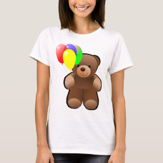 Teddy Bear With Balloons T-Shirt