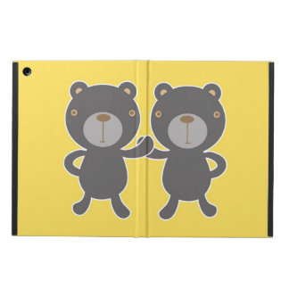 Teddy bear - Yellow Cover For iPad Air