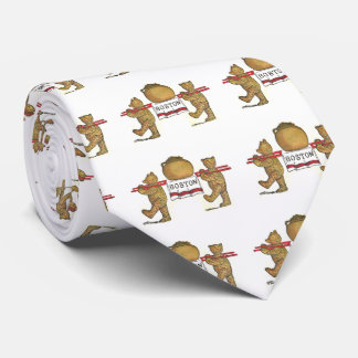Teddy Bears and Boston Baked Beans Tie
