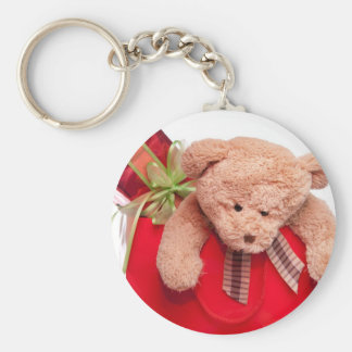 teddy bears and gifts basic round button key ring