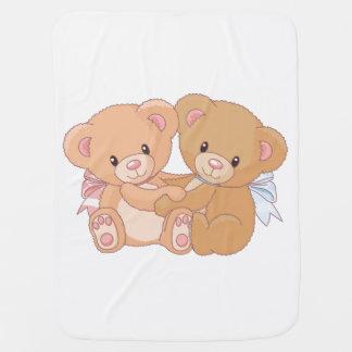 Teddy Bears Baby Blanket