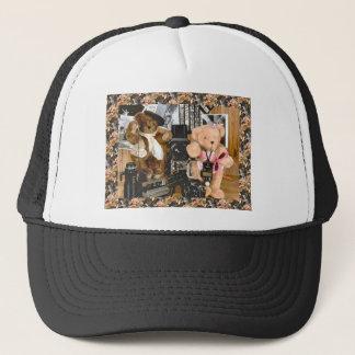 Teddy bears, bearly activities trucker hat