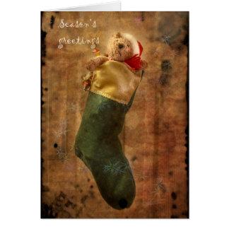 Teddy Bear's Christmas Card