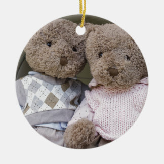 teddy bears christmas ornament