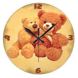 Teddy Bears Clock