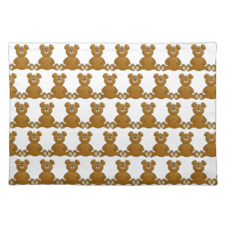 Teddy Bears Cloth Placemat