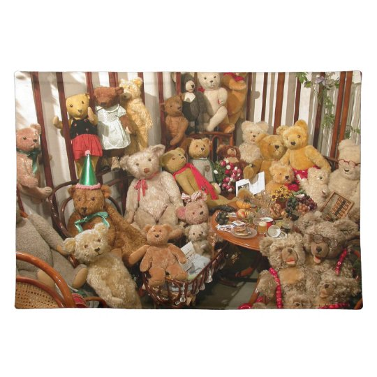 Teddy Bears Collectors Paradise Place Mat