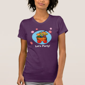 Teddy Bears in Soapbox Car  -   T-shirt