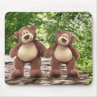 Teddy Bears in the Woods Mousepad