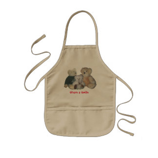 Teddy Bears Kids Apron