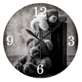 Teddy Bears Large Clock