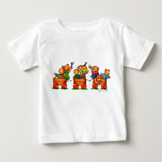 Teddy Bears on a Train  -  Baby T-shirt