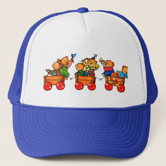 Teddy Bears on a Train  -  Cap