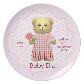 Teddy Bears Picnic Dinner Plates