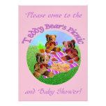 Teddy Bears Picnic Invitation template