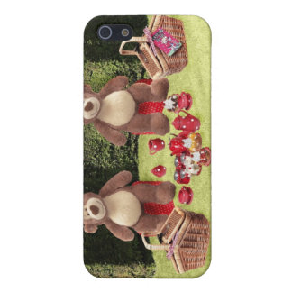 Teddy Bears Picnic iPhone Case iPhone 5 Cover