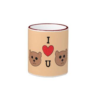 Teddy Bears Ringer Mug