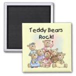 Teddy Bears Rock Tshirts and Gifts Fridge Magnets