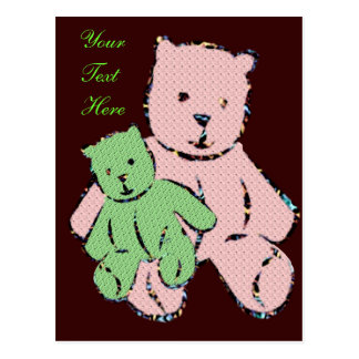 Teddy Bears to Personalize - Post Card