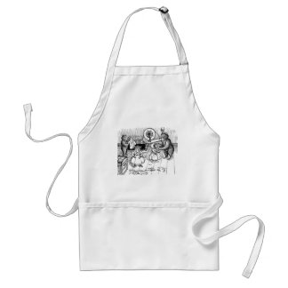 Teddy Bears Try On Clothes Standard Apron