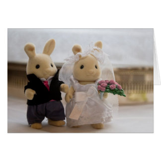 Teddy Bears Wedding card