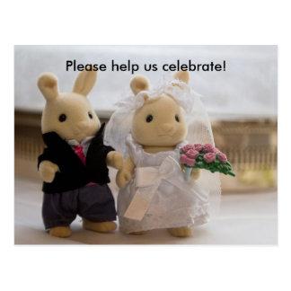 Teddy Bears Wedding card