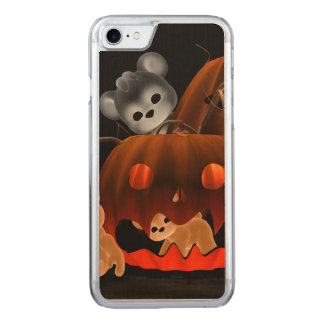 Teddy Bearz Halloween #2 Carved iPhone 7 Case